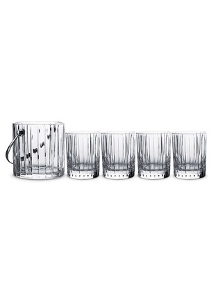 Main View - Click To Enlarge - BACCARAT - Harmonie 'On The Rocks' tumbler and ice bucket set