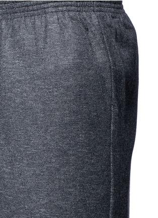 Detail View - Click To Enlarge - COVERT - Virgin wool blend jogging pants