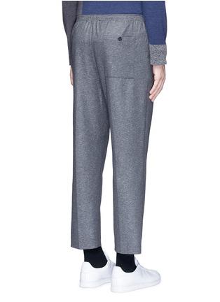 Back View - Click To Enlarge - COVERT - Virgin wool blend jogging pants