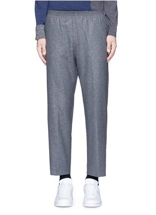 Main View - Click To Enlarge - COVERT - Virgin wool blend jogging pants