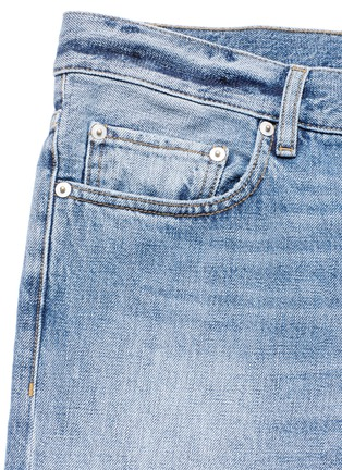 - Covert - Frayed cotton jeans