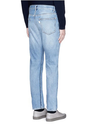 Back View - Click To Enlarge - Covert - Frayed cotton jeans