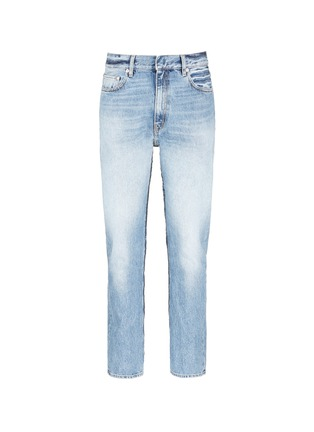Main View - Click To Enlarge - Covert - Frayed cotton jeans