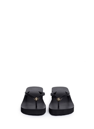 Figure View - Click To Enlarge - Tory Burch - 'Thin' wedge flip flops