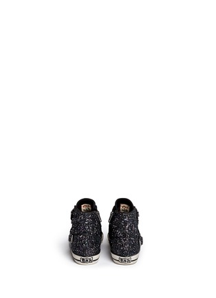 Back View - Click To Enlarge - Ash - 'Fanta Bis' glitter kids sneakers