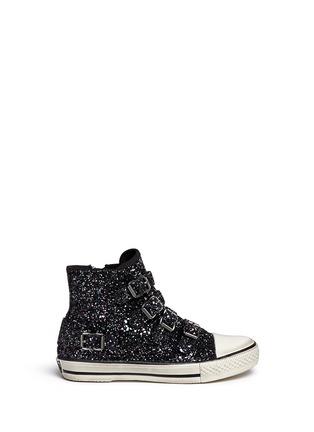 Main View - Click To Enlarge - Ash - 'Fanta Bis' glitter kids sneakers