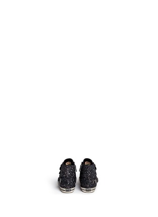 Back View - Click To Enlarge - 90115 - 'Fanta Bis' glitter toddler sneakers