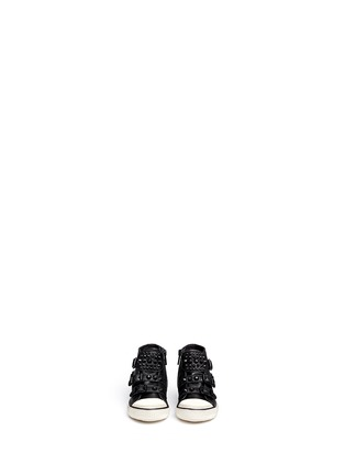 Figure View - Click To Enlarge - Ash - 'Frog' stud leather toddler sneakers