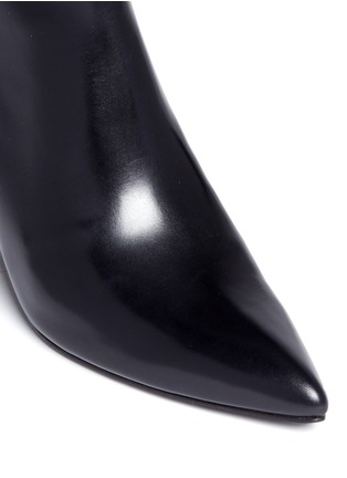 Detail View - Click To Enlarge - ALEXANDER WANG - 'Liv' cutout wedge heel ankle boots