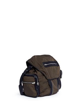Front View - Click To Enlarge - Alexander Wang  - 'Marti' nylon three-way backpack