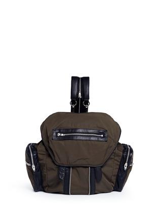 Main View - Click To Enlarge - Alexander Wang  - 'Marti' nylon three-way backpack