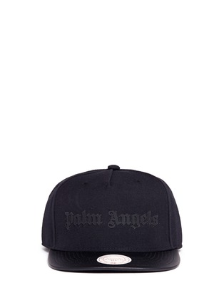 Main View - Click To Enlarge - Palm Angels - x Mitchell & Ness leather brim baseball cap