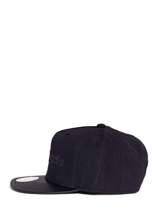 Figure View - Click To Enlarge - Palm Angels - x Mitchell & Ness leather brim baseball cap