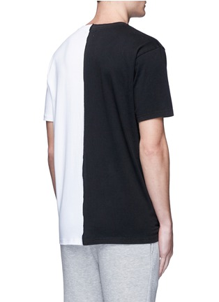 Back View - Click To Enlarge - Palm Angels - 'ExoPalms' hybrid print T-shirt