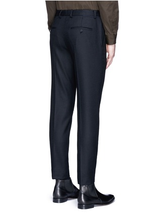 Back View - Click To Enlarge - Wooyoungmi - Piped waist wool pants