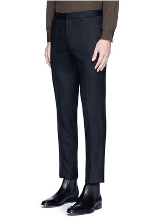 Front View - Click To Enlarge - Wooyoungmi - Piped waist wool pants