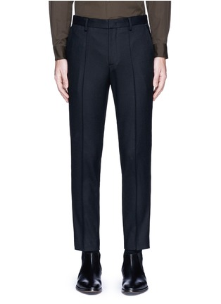 Main View - Click To Enlarge - Wooyoungmi - Piped waist wool pants