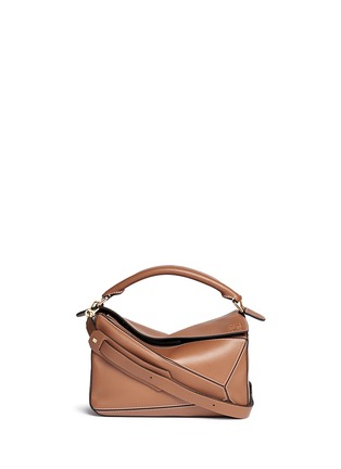 Main View - Click To Enlarge - Loewe - ''Puzzle' calf leather bag