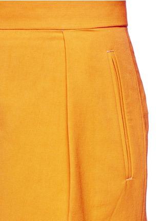 Detail View - Click To Enlarge - Dries Van Noten - 'Pranis' cotton blend pants