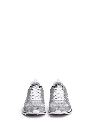 Front View - Click To Enlarge - Athletic Propulsion Labs - 'Techloom Pro' knit sneakers