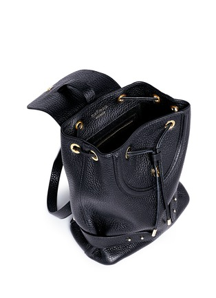 Detail View - Click To Enlarge - Meli Melo - Mini pebbled leather backpack