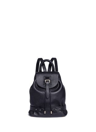 Main View - Click To Enlarge - Meli Melo - Mini pebbled leather backpack