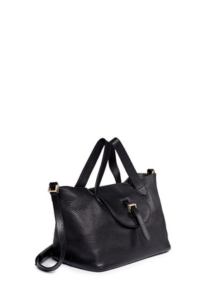 Front View - Click To Enlarge - Meli Melo - 'Thela' medium pebbled leather trapeze tote