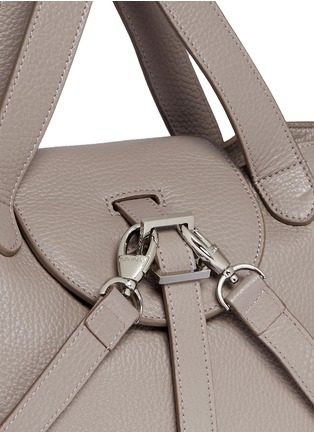 Detail View - Click To Enlarge - Meli Melo - 'Thela' mini pebbled leather trapeze tote