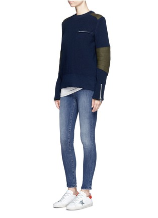 Figure View - Click To Enlarge - DENHAM - 'Spray' skinny jeans