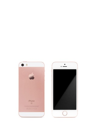 Main View - Click To Enlarge - Apple - iPhone SE 16GB - Rose Gold