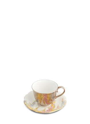 Main View - Click To Enlarge - Richard Brendon - Reflect teacup and antique saucer set