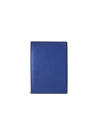 Main View - Click To Enlarge - VALEXTRA - Leather passport holder