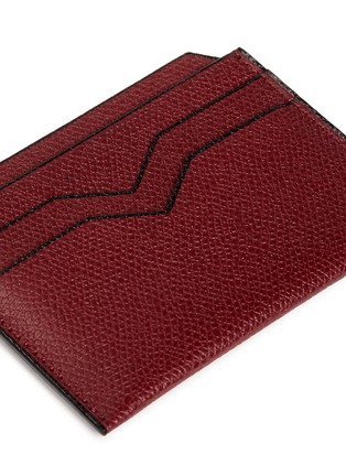 Detail View - Click To Enlarge - VALEXTRA - Leather card case
