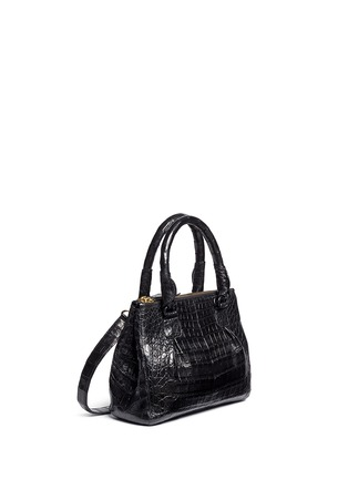 Figure View - Click To Enlarge - Nancy Gonzalez - Crocodile leather small crossbody bag