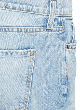 Detail View - Click To Enlarge - Current/Elliott - 'The Fling' exposed button fly jeans