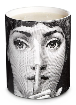 Main View - Click To Enlarge - FORNASETTI - Silenzio large scented candle 1.9kg