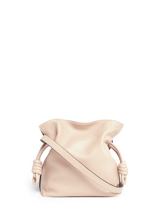Main View - Click To Enlarge - Loewe - 'Flamenco Knot' small leather tote bag