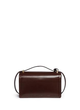 Back View - Click To Enlarge - LOEWE - 'Barcelona' leather shoulder bag