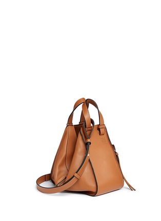 Figure View - Click To Enlarge - Loewe - 'Hammock' small leather hobo bag