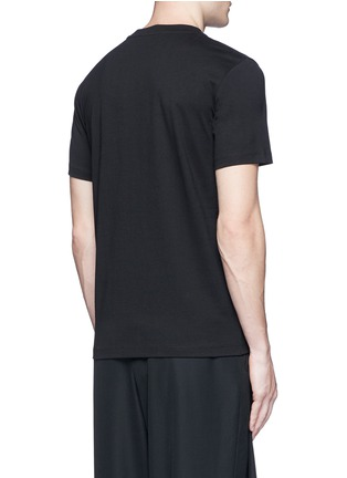 Back View - Click To Enlarge - McQ Alexander McQueen - Logo print T-shirt