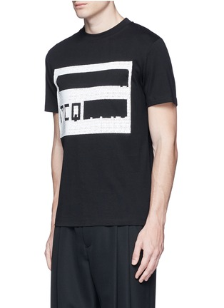 Front View - Click To Enlarge - McQ Alexander McQueen - Logo print T-shirt