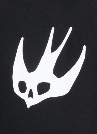 Detail View - Click To Enlarge - McQ Alexander McQueen - Swallow skull print sweatshirt