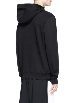 Back View - Click To Enlarge - McQ Alexander McQueen - 'SWALLOW' gothic print hoodie