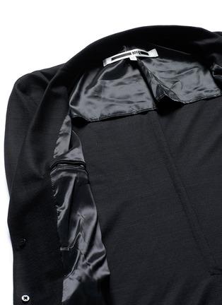 - McQ Alexander McQueen - 'Curtis' wool piqué soft blazer