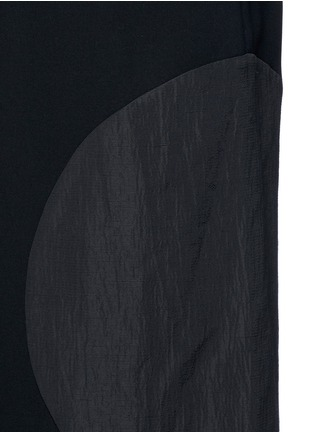 Detail View - Click To Enlarge - McQ Alexander McQueen - 'Taito' circle insert shorts