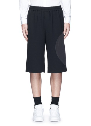 Main View - Click To Enlarge - McQ Alexander McQueen - 'Taito' circle insert shorts