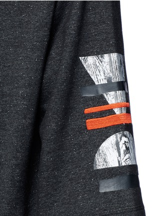 Detail View - Click To Enlarge - McQ Alexander McQueen - Sweatshirt parka