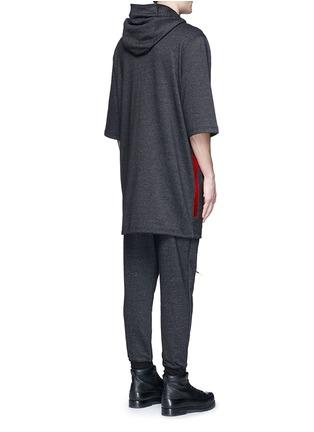 Back View - Click To Enlarge - McQ Alexander McQueen - Sweatshirt parka