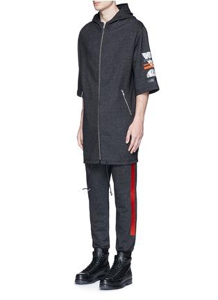 Front View - Click To Enlarge - McQ Alexander McQueen - Sweatshirt parka