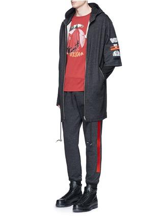 Figure View - Click To Enlarge - McQ Alexander McQueen - Sweatshirt parka